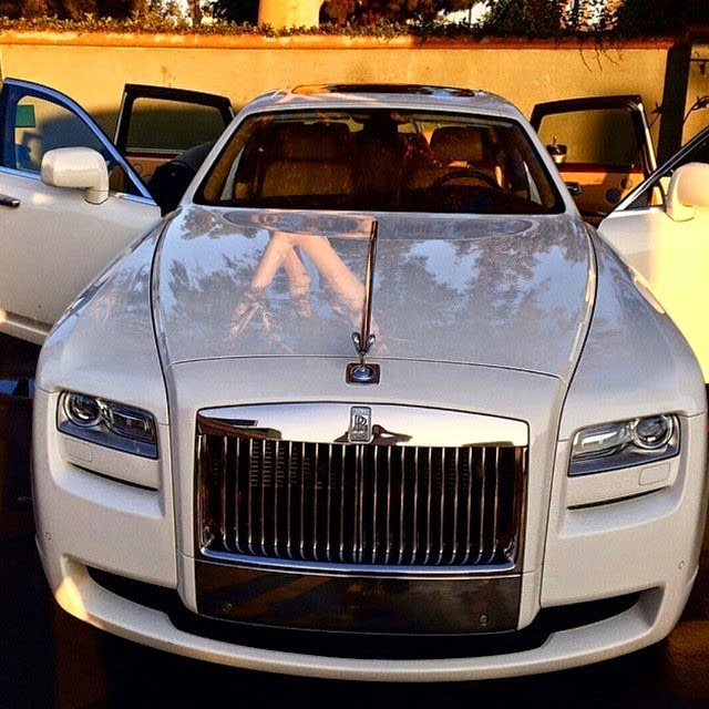Image result for Photos of Davido in Rolls ROYCE