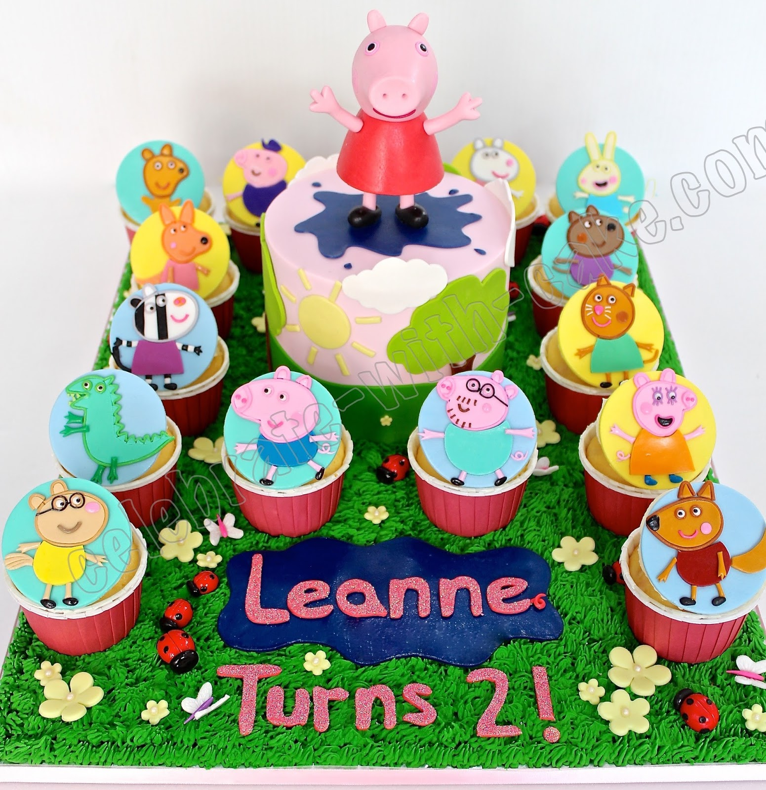 Peppa Birthday Cake Singapore