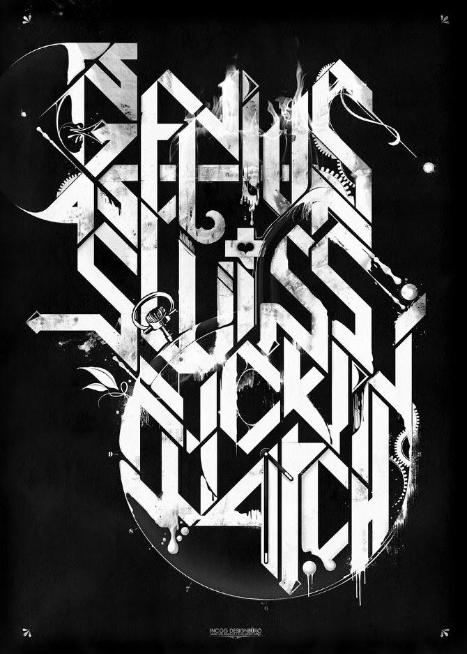 Damien Vignaux - Graphic Design - Typography