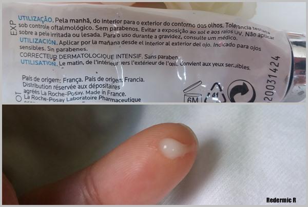 Minha rotina noturna de cuidados faciais: Redermic R La Roche-Posay