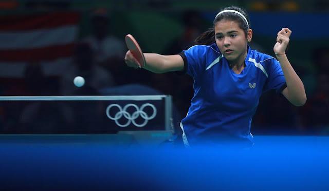 Adriana Diaz en Rio 2016 (Foto: ITTF- Remy Gross)