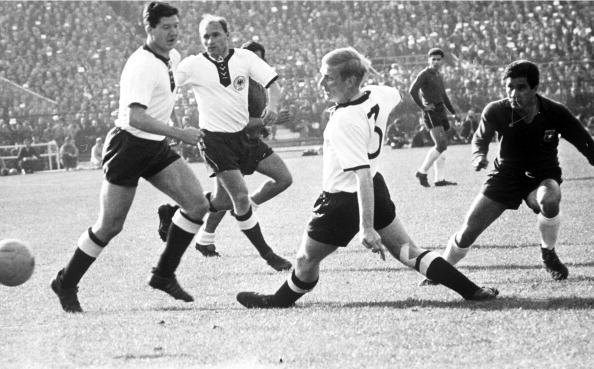 Alemania Federal y Chile en Copa del Mundo Chile 1962, 6 de junio