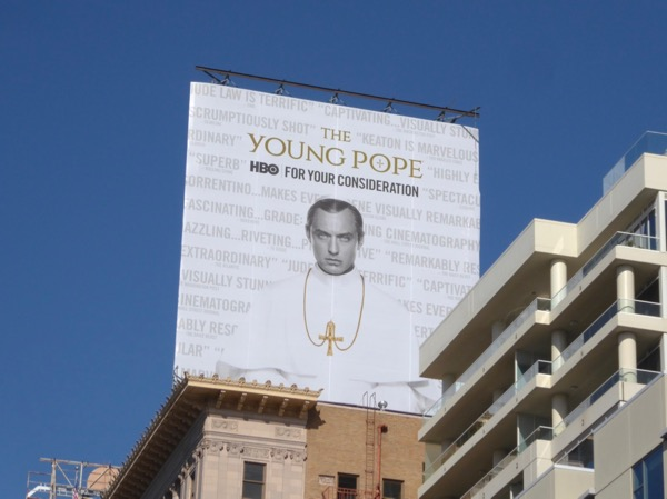 Young Pope 2017 HBO FYC billboard