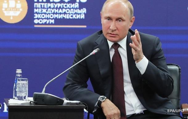 """Путін закликав Захід не переходити """"червону межу"""""""