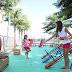 Feira orgânica do Parque D. Pedro Shopping  tem área kids temática