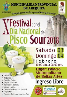 X Festival del Pisco Sour
