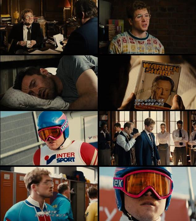 Eddie The Eagle 2016 English 720p HC HDRip