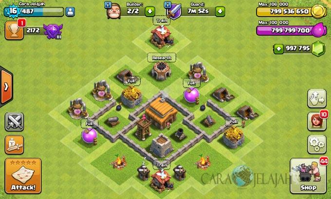 Desain Base Town Hall 3 Terbaik Dan Terbaru Clash Of Clans 30