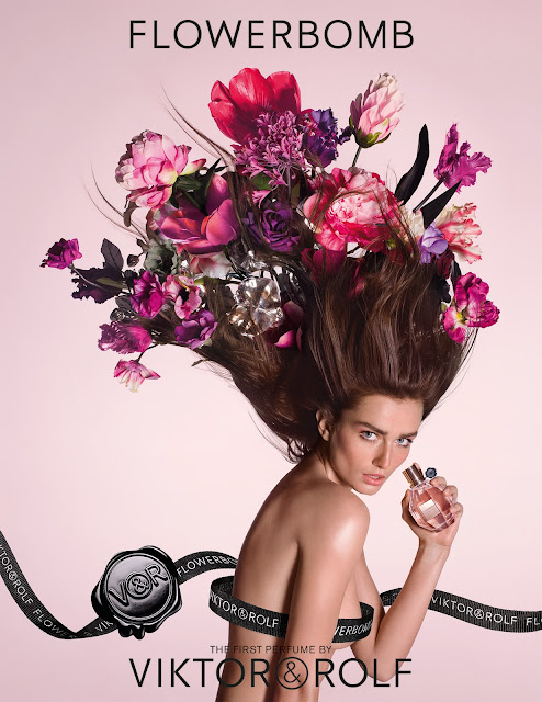Viktor & Rolf Flowerbomb New Ad Campaign