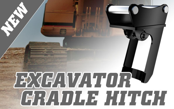 New Digga cradle hitch for excavators - Digga attachments
