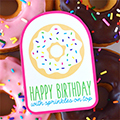 Birthday Donut Gift Tag