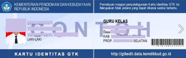gambar contoh kartu identitas GTK 2017