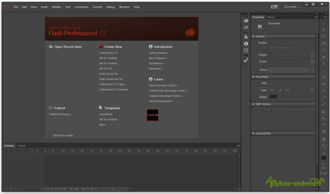 Adobe Flash Professional CC 2014 14.2.0