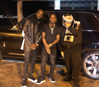 Mavado Shoot New Video Father Of Asahd