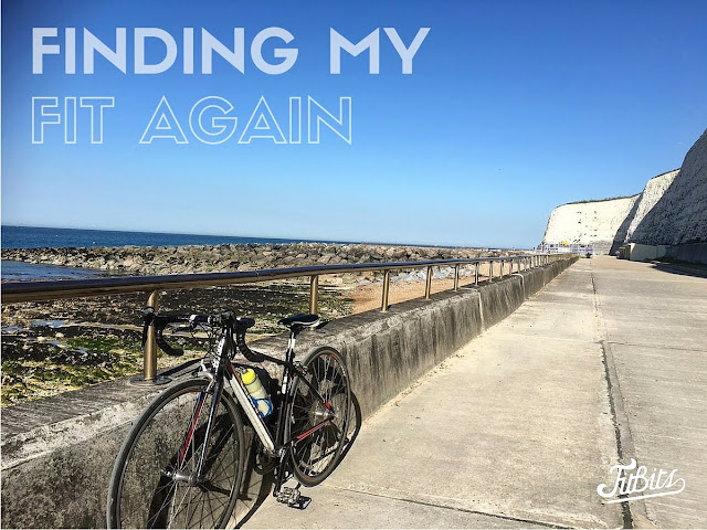 Finding my fit again after broken collarbone | FitBits | Tess Agnew