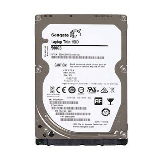 Harddisk  Seagate 2.5 500GB Laptop