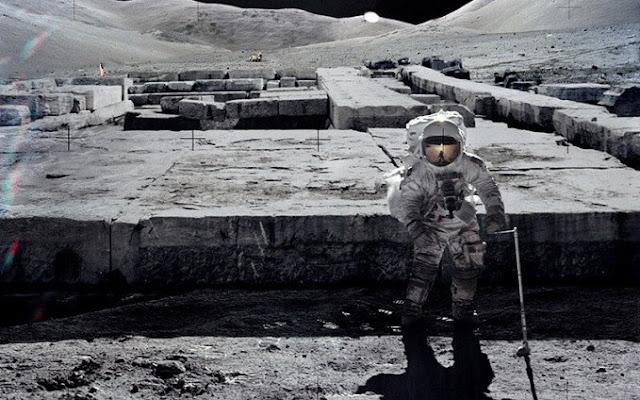 La NASA podría tener pruebas de estructuras gigantes en la Luna