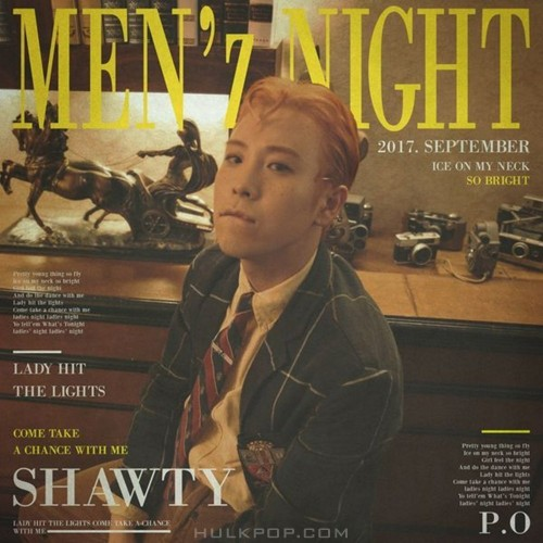 P.O (BLOCK B) – MEN`z NIGHT (Feat. Chancellor) – Single (ITUNES MATCH AAC M4A)