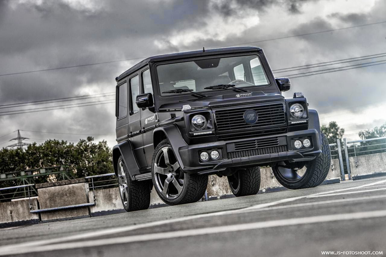 mercedes benz g class w463 prior design benztuning. Black Bedroom Furniture Sets. Home Design Ideas