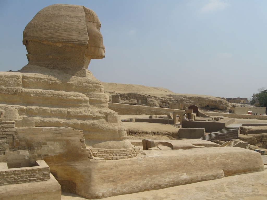 Esfinge de Gizé, a famosa esfinge egípcia