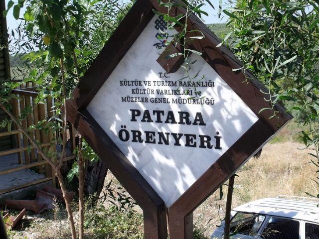 PATARA ÖREN YERİ