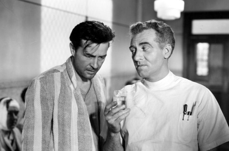 Ray Milland anf Frank Faylin in The Lost Weekend