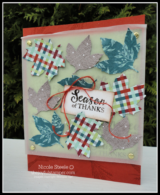 Stampin' Up!'s Gather Together Splitcoaststampers Sketch 775