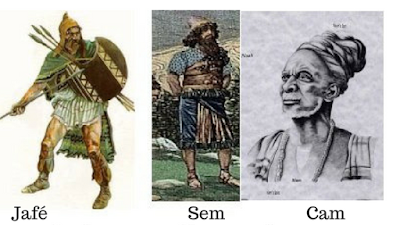 Os três filhos de Noé