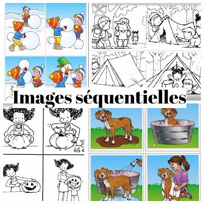 Images séquentielles à remettre dans l'ordre chronologique