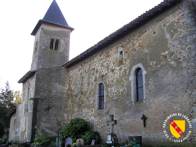 MOREY (54) - Eglise Saint-Paul-et-Saint-Pierre (XIIe-XVIe siècles)