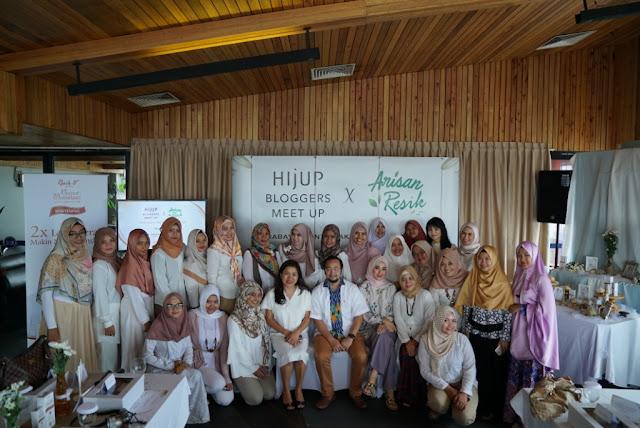 Sharing Menjadi Keluarga Harmonis Bersama Hijup dan Arisan Resik