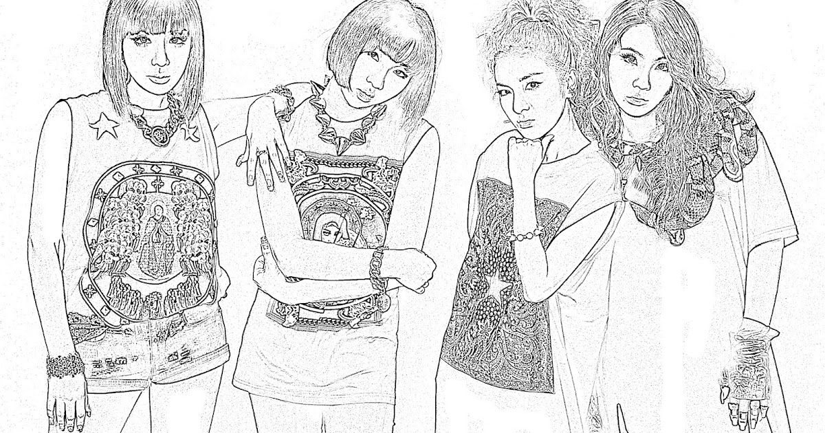 Anti Kpop-Fangirl: Your Very Own Kpop Coloring Book