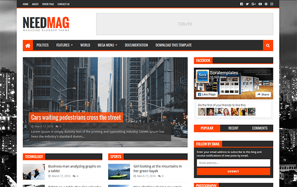 newstube blogger template high quality free blogger templates