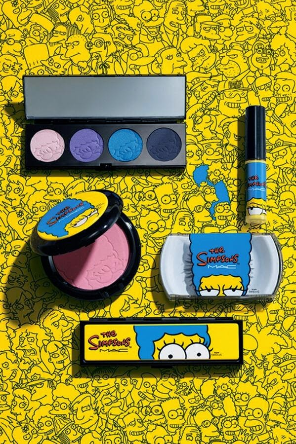 Collaboration MAC x Marge Simpson