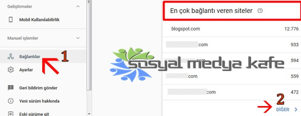 Google Search Console Backlink Kontrolü