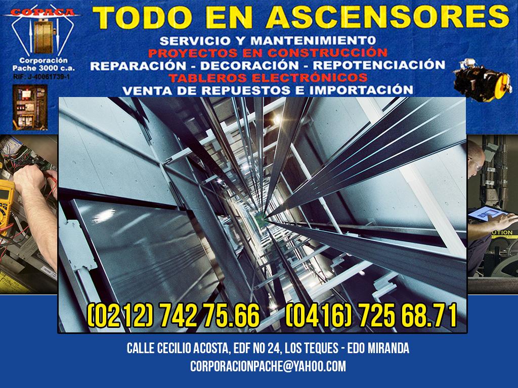 COPACA CORPORACION PACHE 3000 C.A en Paginas Amarillas tu guia Comercial