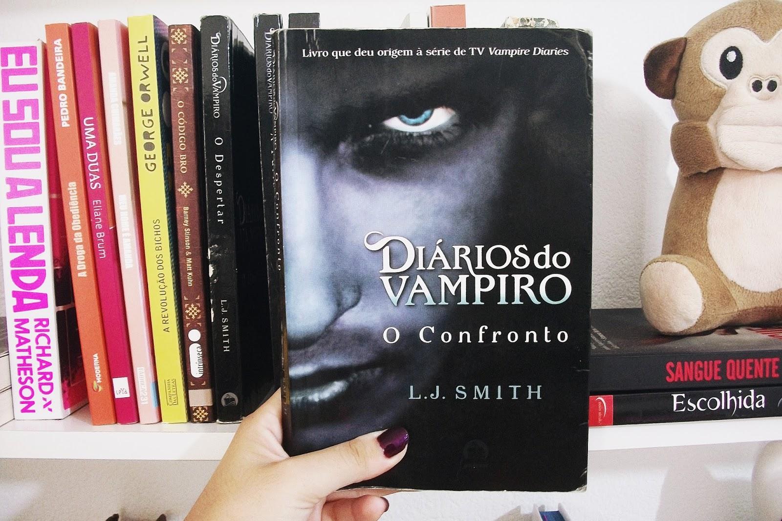 Diários do Vampiro: O Confronto, de L.J. Smith (#19)