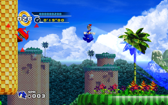 Sonic the Hedgehog 4 - Episode1 screenshot 2