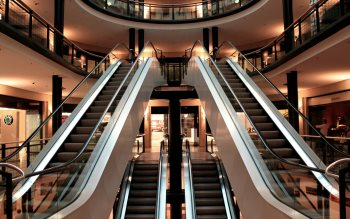 Wallpaper: Escalators