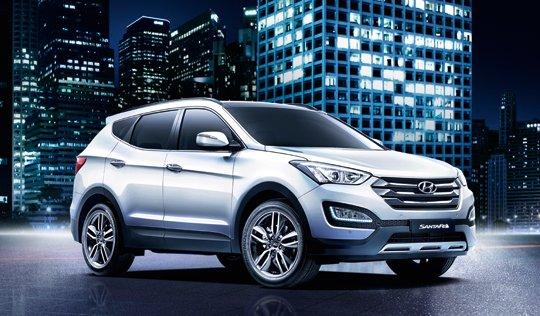 Genesis Suv To Put The Bling On Hyundai Santa Fe