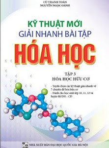 [PDF] Kĩ thuật mới giải nhanh hóa học - tập 3