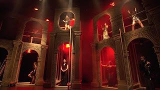 Escenografía de Nine, el musical