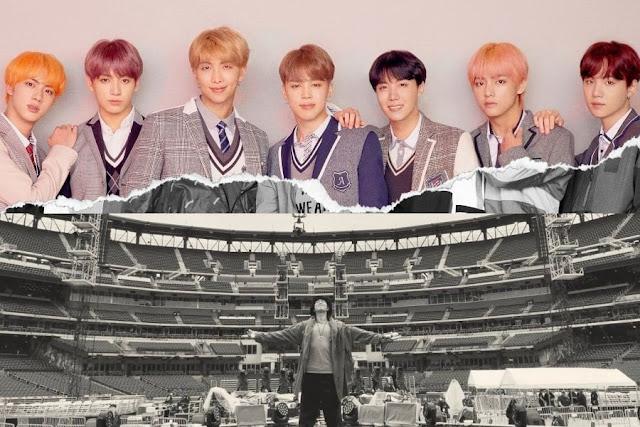 BTS Di Stadion AS
