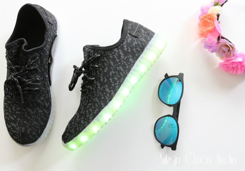 alışveriş-Sammydress-ışıklı spor ayakkabıları-ışıklı spor ayakkabısı