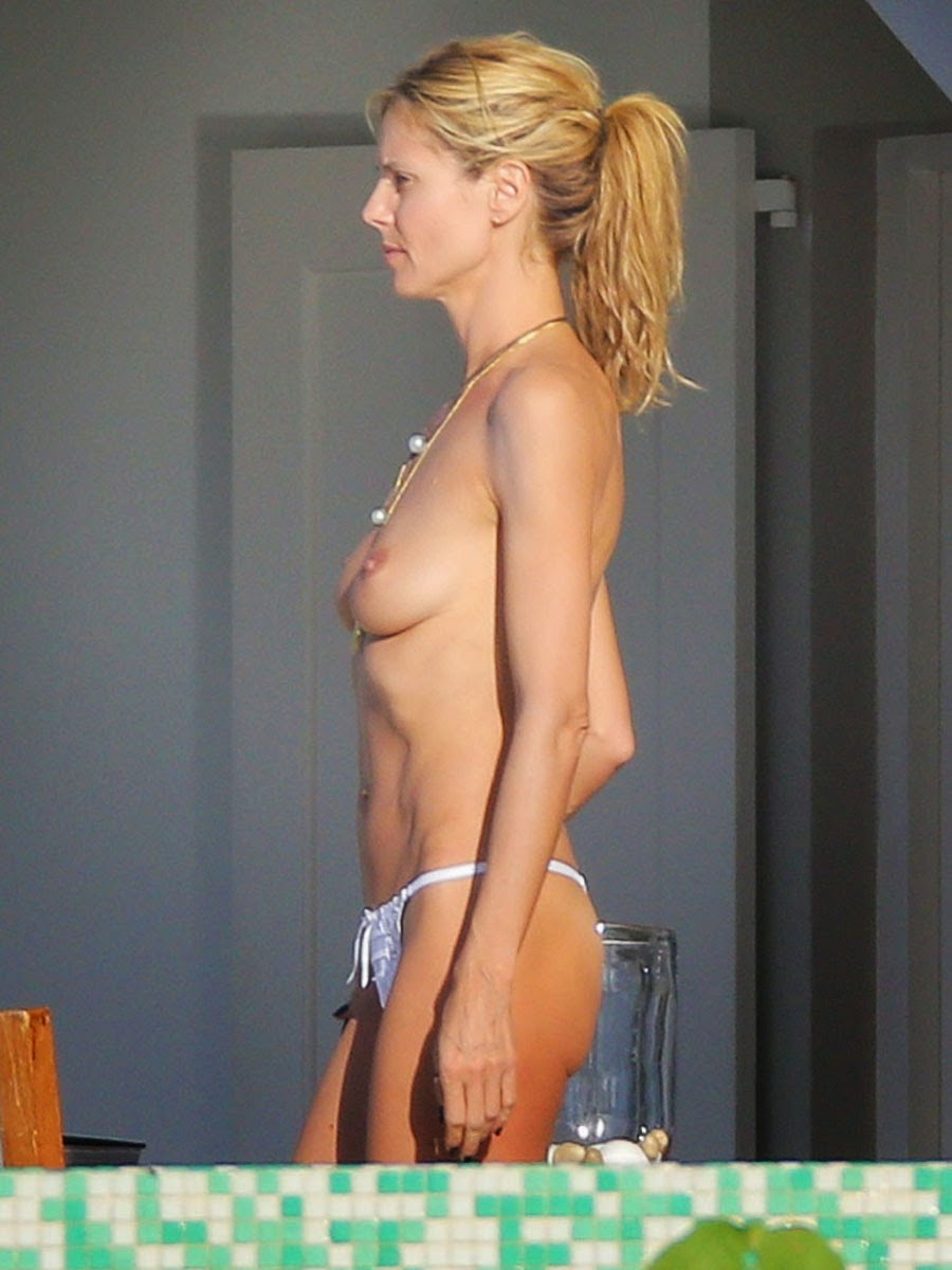 Heidi klum nude boobs consider