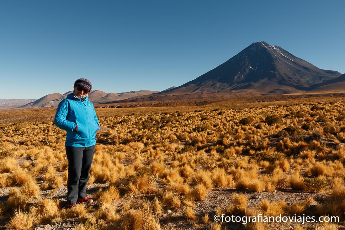 volcán Licancabur San pedro de Atacama desierto
