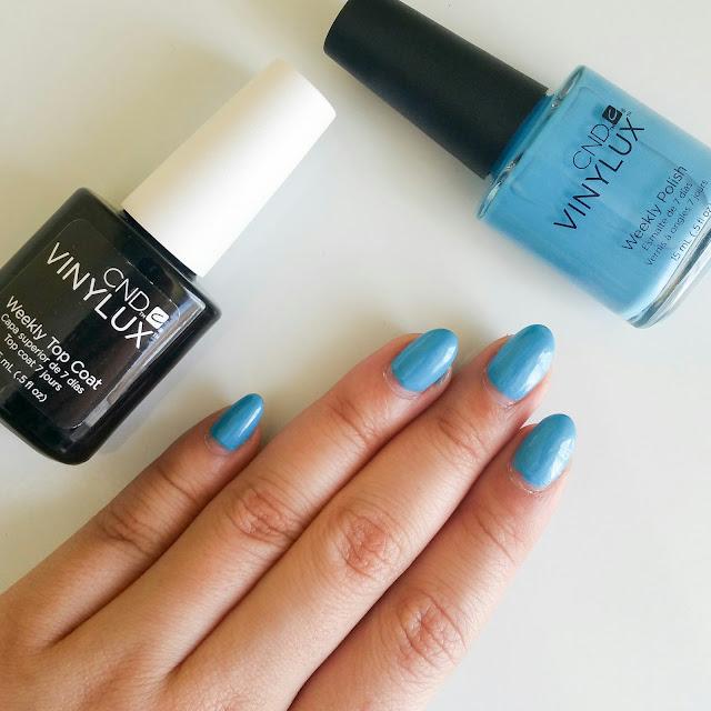 CND Vinylux Digi-teal, nail polish