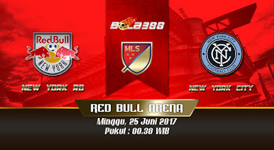 Agen Bola Online Terpercaya - Prediksi Pertandingan MLS, New York RB vs New York City 25 Juni 2017