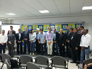 Comando da Guarda Municipal de Aracaju (SE) participa de encontro de gestores municipais de segurança pública em Recife