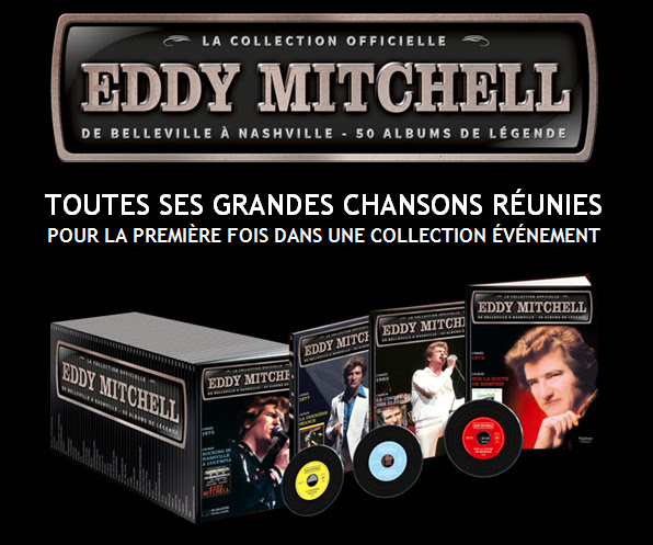Eddy Mitchell, la collection officielle